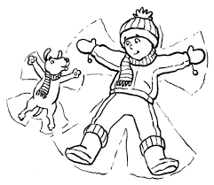 Small Picture Coloring Pages Winter Yay For Snow Winter Coloring pages of