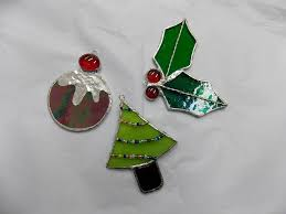 Stained Glass Christmas Ornament Patterns Magnificent Design Inspiration