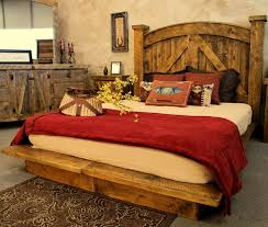 Rustic Barnwood Bedroom Furniture | Silo Christmas Tree Farm