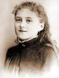 """Saint Therese in her autobiography compares herself to """"a weak little bird""""  who has """"the eyes and heart of an eagle"""" 