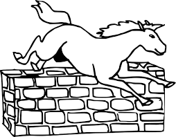 Coloriage Cheval Grand Galop Imprimer Sur Coloriages Info