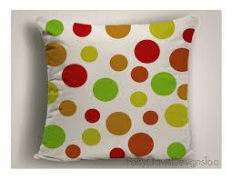 polka dot pillows