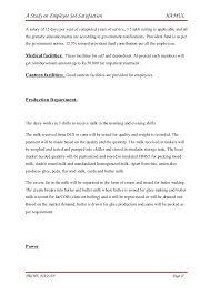 Employee Promotion Announcement Template Simple A Study On Employee Job Satisfaction H R Final Project
