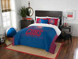 chicago cubs queen full size comforter and 2 shams