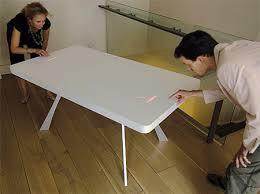 led pong table modern game table78
