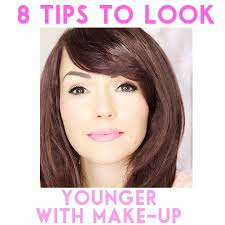 8 tips to look younger with make up