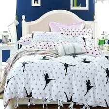 youth bedding sets canada printed styles dancing set ties cotton duvet cover pillowcases