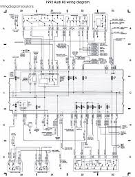 schematic wiring diagrams solutions the 1992 audi 80 wiring diagram