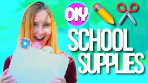 diy school supplies 2017 diy school supplies back to school 2017 2018
