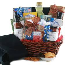 the grilling gourmet grilling gift basket