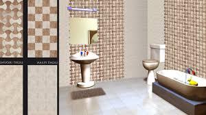 image of bathroom wall tiles design art ideas decor