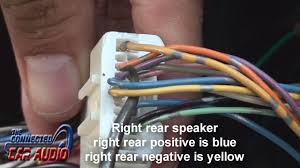 nissan versa stereo wiring 2012 and up youtube 2015 nissan altima rear speaker wire colors at 2013 Nissan Altima Stereo Wiring Diagram