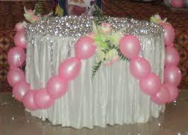 decoration for table. Table Decoration On Birthday Cake In For N