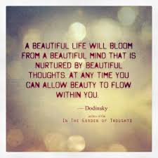 Beauty Thoughts Quotes