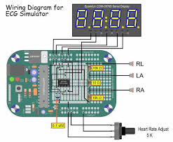 ecg simulator 27 steps menta ecg simulator wiring diagram
