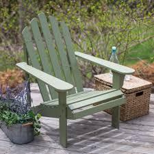 sage green wood adirondack chair for outdoor patio garden deck wooden chairs vermont sage cpbsg