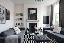 Warm Grey Living Room Monochrome Decorating Ideas Period Living