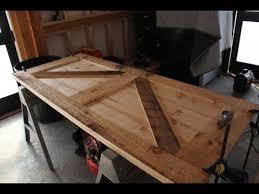 how to build a board and batten door