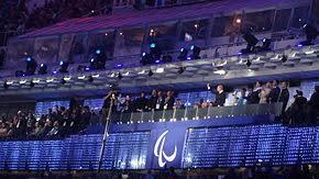 Зимние Паралимпийские игры Википедия Церемония открытия Паралимпийских игр 2014 в Сочи jpg