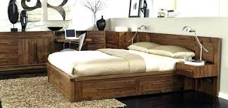 rustic platform beds with storage. Rustic Platform Beds Bed With Drawers Storage Modern King Liberty Furniture .