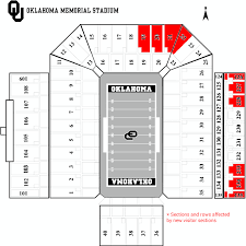 Visitor Sections Being Moved At Oklahoma Memorial Stadium