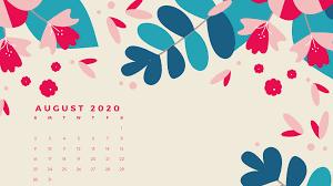 August 2020 Calendar HD Wallpapers ...