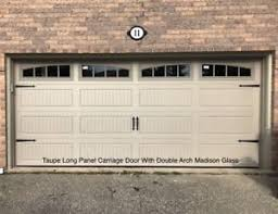 16x7 insulated carriage garage doors 1500 installed