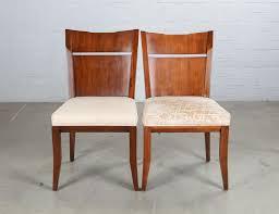 A Bill Sofield For Baker <b>seven piece</b> mahogany dining suite <b>modern</b>