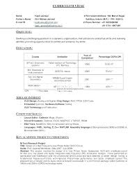 Transform Resume For Engineers Sample Freshers Your Free Vlsi