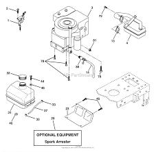 Husqvarna lt 18542 b 954571748 2004 02 parts diagram for engine b