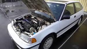 Grandma's clean and pristine 1990 Honda Civic SI Hatchback - YouTube
