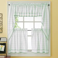 Green Kitchen Curtains
