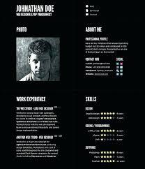 Innovative Resume Formats Resume Design Template Online Resume ...
