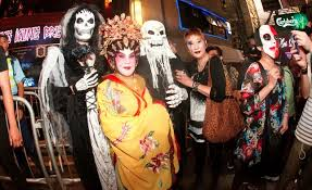 The Biggest Halloween Party In Hong Kong. Lan Kwai Fong U2013 Hong Kongu0027s Main  Merrymaking Venue U2013 Is Crowded With Thousands Of Dressed Up, Dolled Up And  ...