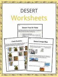 Fill In The Chart With Information About Each Biome Desert Facts Worksheets Hot Cold Climate Information For