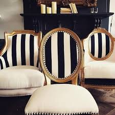 black and white striped furniture. these black and white chairs are my kind of decorista daydreams striped furniture i