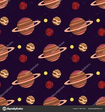 Pattern Universe Impressive Solar System Space Planets Seamless Pattern Galaxy Earth Universe
