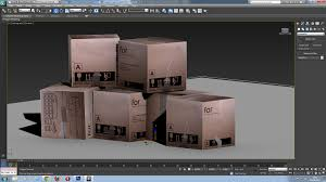 3ds Max Game Design 3d Game Design Notes Adding Textures To A Cube In 3ds Max