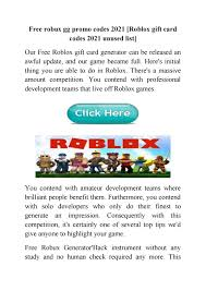 Roblox gift card codes 2021 unused: Free Robux Gg Promo Codes 2021 Roblox Gift Card Codes 2021 Unused List By Roblox Gift Card Codes Generator 2021 Issuu