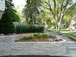charming garden decoration using retaining wall landscaping ideas fair picture of garden design and decoration