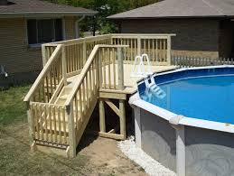 Plans Above Ground Pool Deck Plans Above Ground Pool Deck Plans