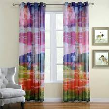 dying sheer curtains diffe color multi colored muarju dying sheer curtains
