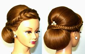 You Tube Hair Style wedding hairstyle for medium long hair elegant updo youtube 6614 by wearticles.com