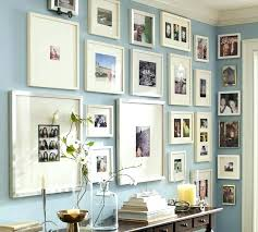 square wall frames white frame gallery wood multiple opening set large picture