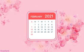 These are some images for you for this happy new year 2021 screensaver images. Beautiful February Desktop Mobile Wallpaper Free Backgrounds