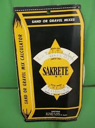 Sakrete Sand Concrete Mix Circular Slide Rule Calculator