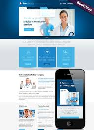 professional webtemplate medical service website template bootstrap website