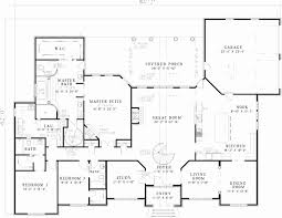 1 5 story house plans with walkout basement unique walkout ranch floor plans unique ranch house
