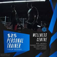 Template For Advertising Personal Trainer Fitness Ad Video Template Postermywall