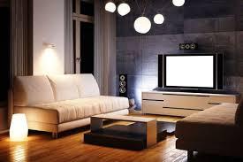 lighting a room. Living Room In Modern Home Interior Lighting A